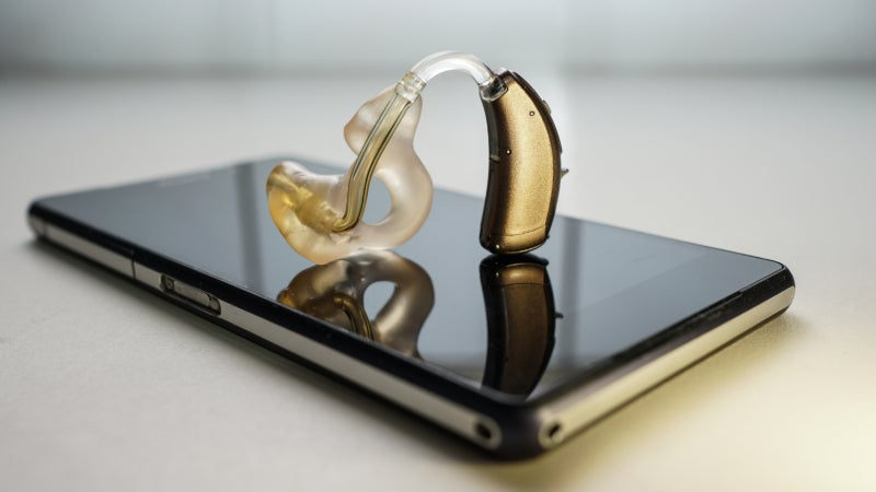hearing aid and mobile phone