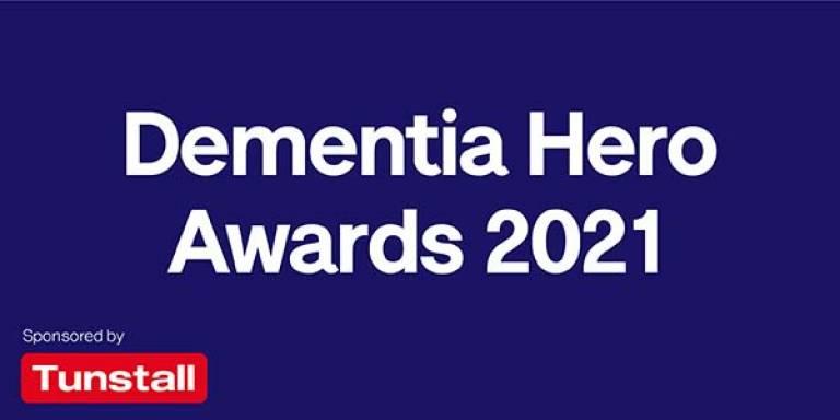 Dementia Hero Awards logo