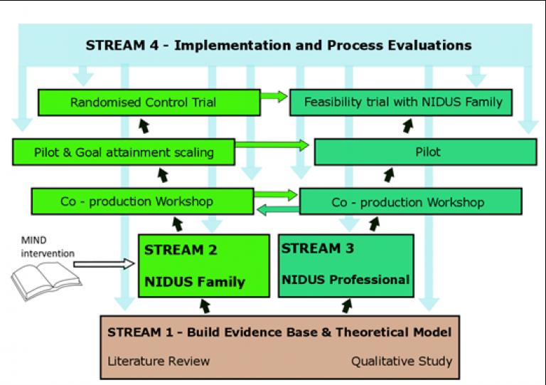 NIDUS stream 4 diagram