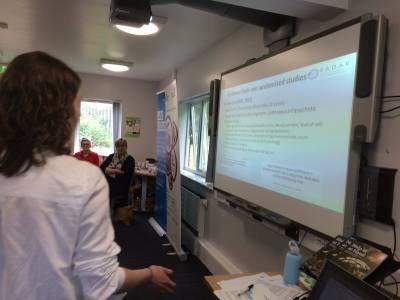 Maria presenting RADAR Lincoln 16.05.2017