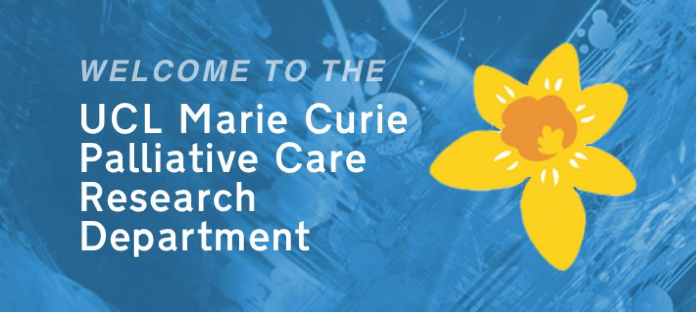 Marie Curie Palliative Care Research Department   Psychiatry
