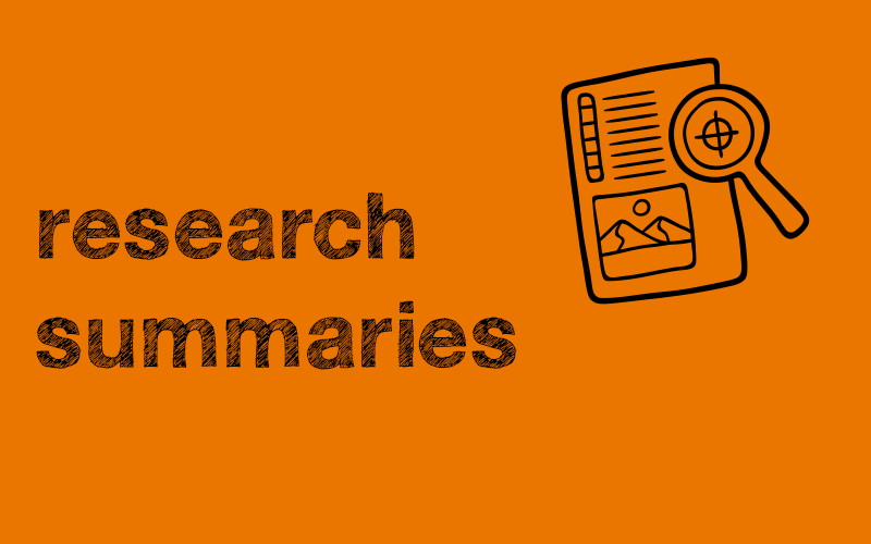 research summaires
