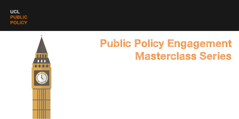 an image of the public policy masterclass series banner