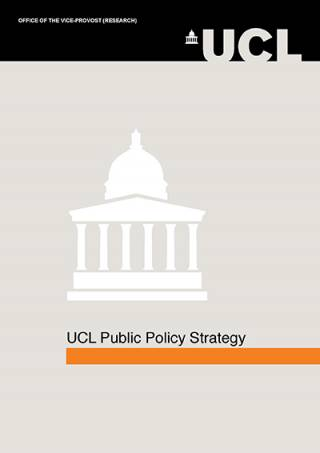 UCL Public Policy Strategy