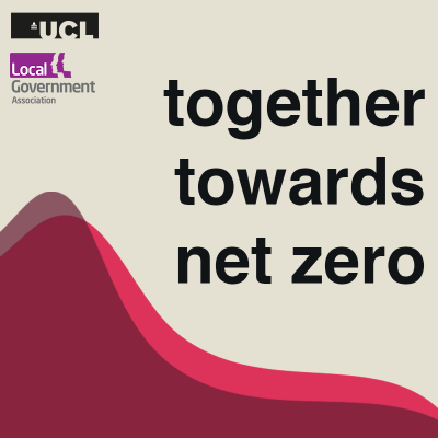 an image of the together towards net zero podcast icon