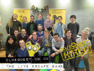 QSD Cluequest 2016 group image