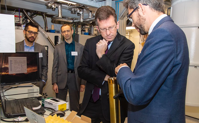 DCMS Secretary Jeremy Wright meets UCLQ Director John Morton