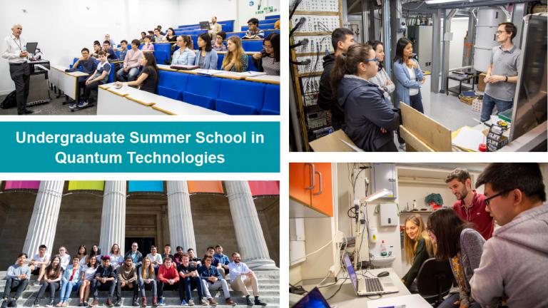 Collage of photos: UCLQ Summer School