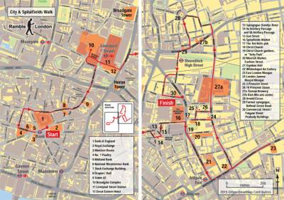 City and Spitalfields | Ramble London - UCL - London's Global University