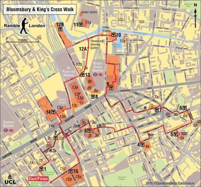 kings cross map