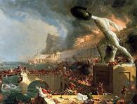 The Course of Empire Destruction Thomas Cole