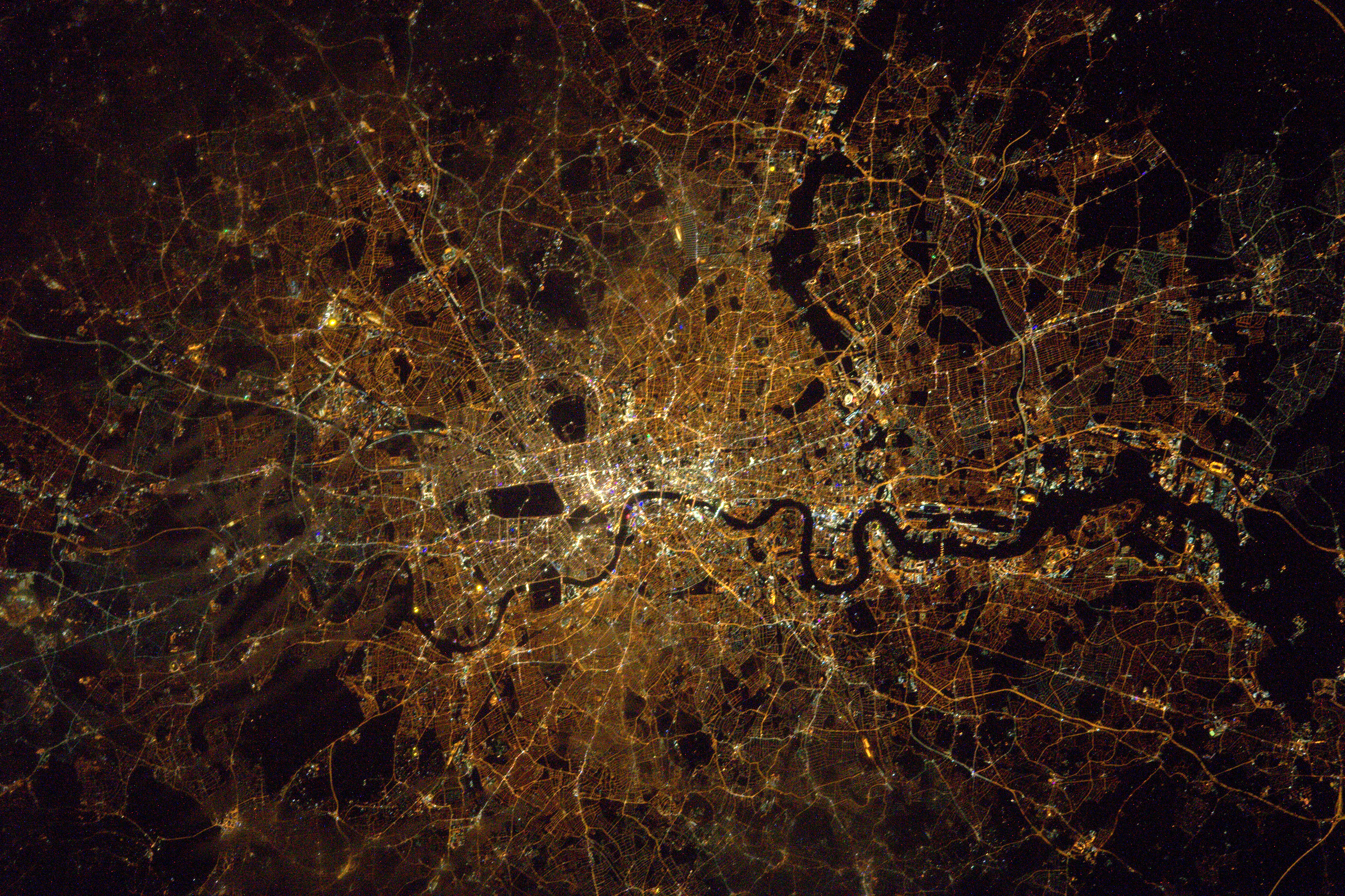 London at Night image