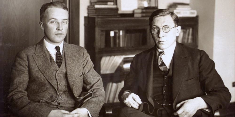 Banting and Best, co-discoverers of insulin