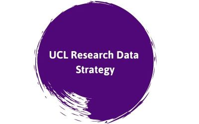Research Data Strategy text on a purple background