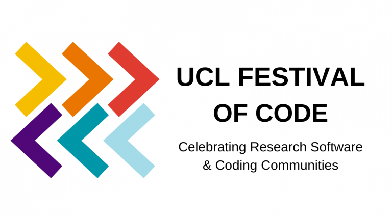 UCL Festival of Code logo