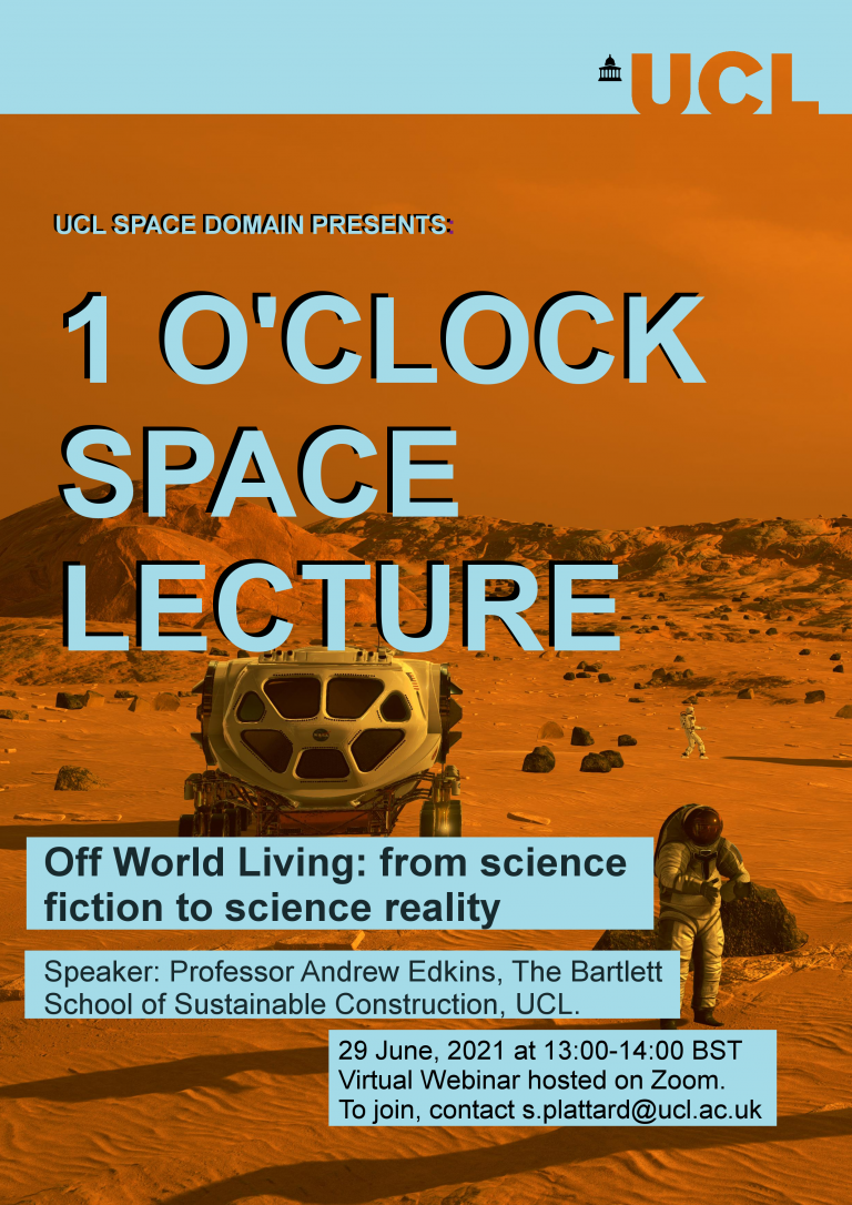 Off World Living: from science fiction to science reality