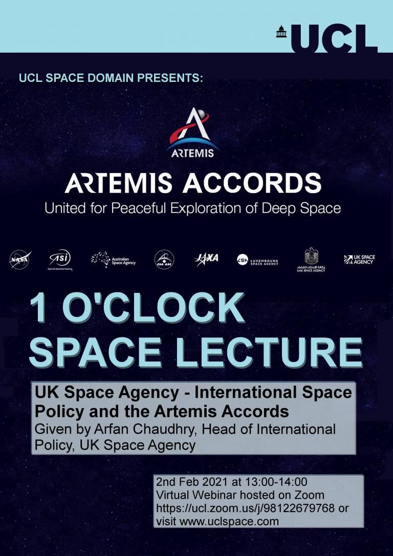 "One O'clock Lecture ""Artemis"""
