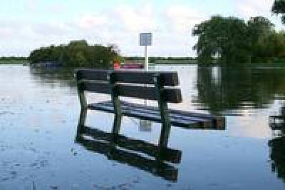 Flooded Bench - freeimages.com