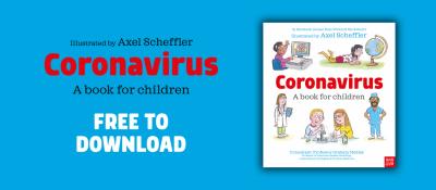 Coronavirus Book For Children Cover