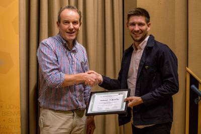 Research poster Prize Runner-Up Nathaniel Hafford Tear