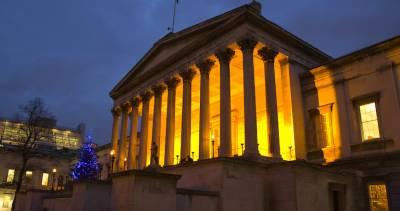 UCL Quad at night - credit: UCL