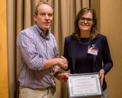 ECN Prize Winner Rebecca Lawson