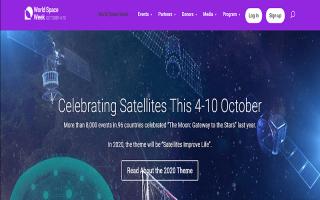 Space Week Poster