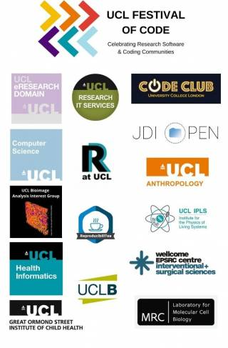 logos of the Festival of Code