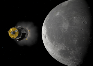 heracles approaching the moon esa image