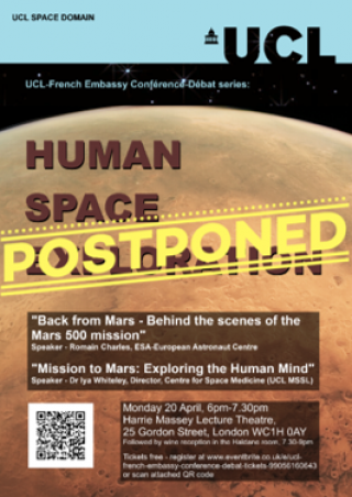 Human Space Exploration Poster