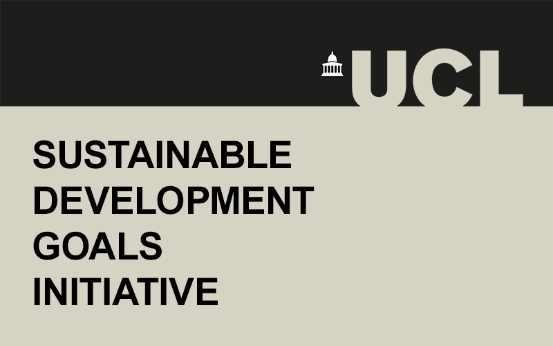 an image saying 'Sustainable Development Goals Initiative'