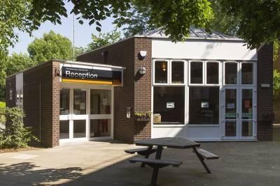 Reception building