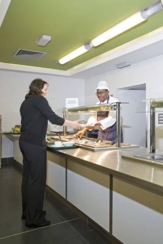 Ramsay Hall Self-Service dinning room