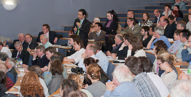 IRDR Launch Event Audience