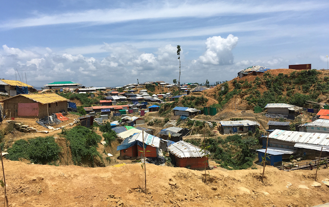 Rohingya Camp near Cox' Bazaar