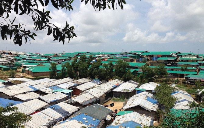 Rohingya Camp near Cox' Bazaar