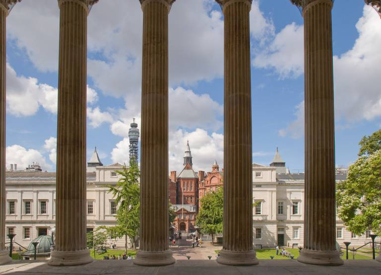 UCL campus view