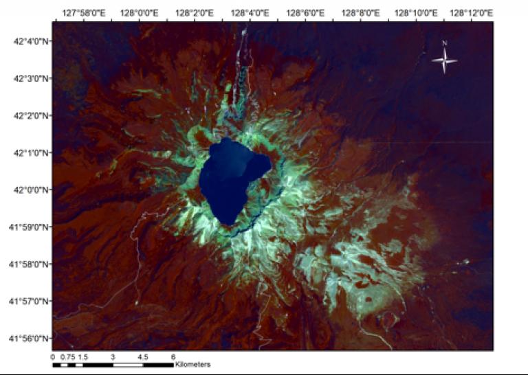 border volcanoes