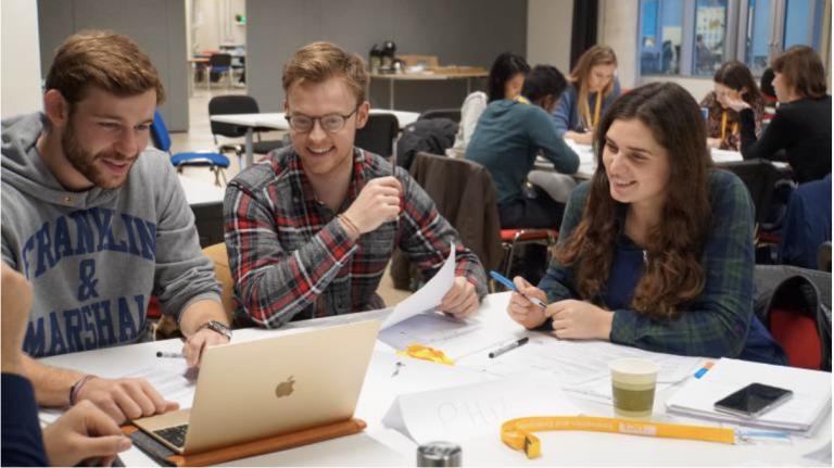 Students at UCL IRDR Enterprise Workshop