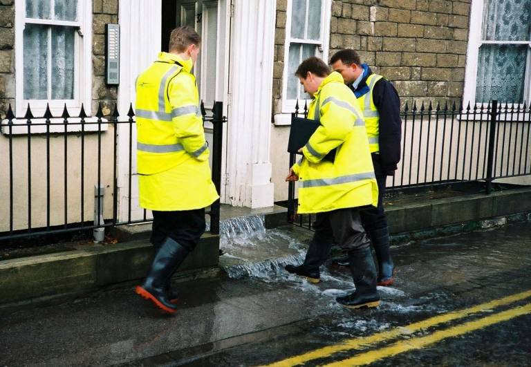 Flooding in Yorkshire