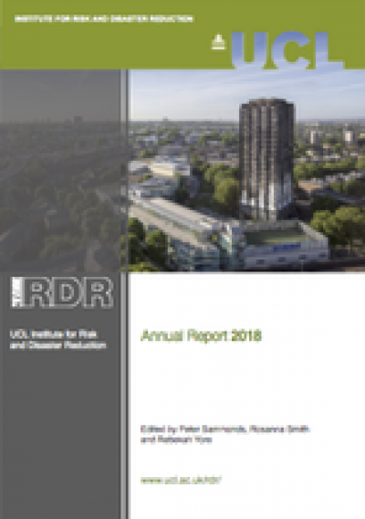 IRDR 2018 Annual Report Cover