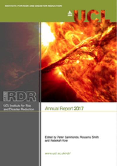 UCL IRDR 2017 Annual Report cover