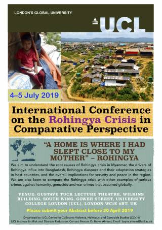 flyer Rohingya Conference