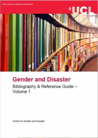Gender & Disaster Reference Guide Volume 1