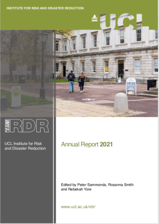 UCL IRDR 2021 Annual Report Cover