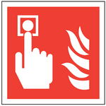 Fire fighting sign