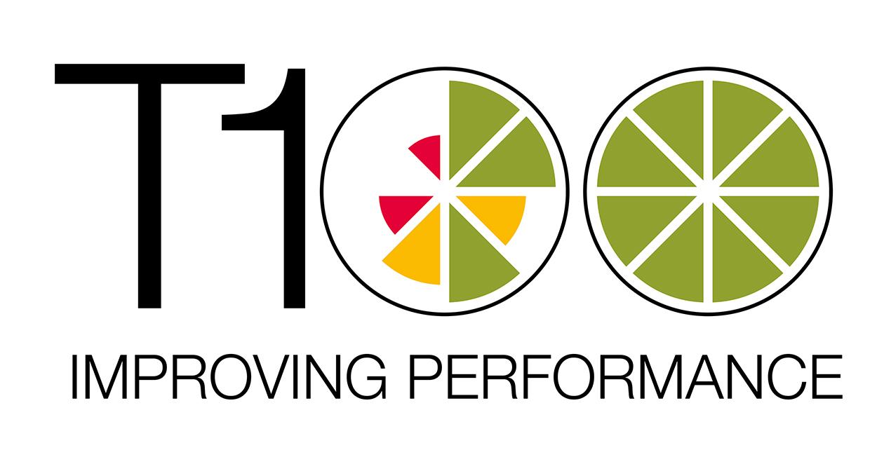 T100 logo