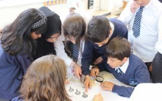 Mobile heritage lab wilberforce primary school 2019