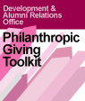 Philanthropic Giving Toolkit