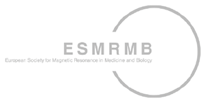Logo of the European Society for Magnetic Resonance in Medicine and Biology (ESMRMB)